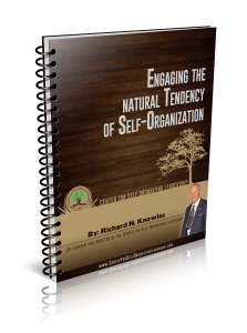 enganging in self organizing leadership by dick knowles